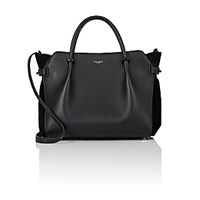 Nina Ricci Women's Marche Medium Satchel Black Blue Black Blue