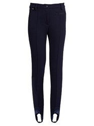 Fendi Stirrup Ski Leggings Navy