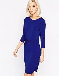Selected Michella Bodycon Dress Mazarineblue