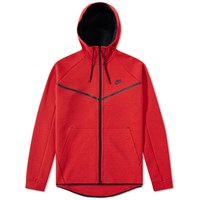 Nike Tech Fleece Windrunner Red