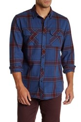 Tavik Vincent Plaid Long Sleeve Signature Slim Fit Shirt Multi