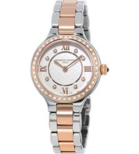 Frederique Constant Fc200whd1erd32b Rose Gold White