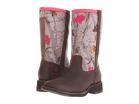Ariat Fatbaby All Weather Palm Brown Hot Leaf Neoprene Cowboy Boots
