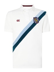 Canterbury Of New Zealand Regular Fit Polo Shirt White