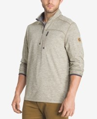 G.H. Bass And Co. Men's Big And Tall Performance Pullover Gray Heather
