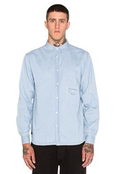 10.Deep Redtail Sweeper Button Down Blue