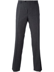 Etro Slim Fit Tailored Trousers Grey