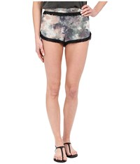 Gypsy05 Silk Perfect Shorts With Pockets Volcano Women's Shorts Red
