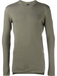 Helmut Lang Fine Knit Jumper Green