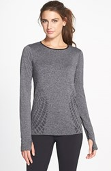 Women's New Balance 'Made For Movement' Seamless Long Sleeve Black