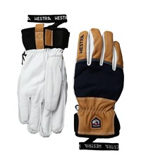 Hestra Army Leather Abisko Navy Ski Gloves