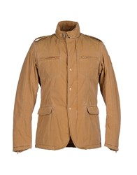 Bomboogie Coats And Jackets Jackets Men Sand