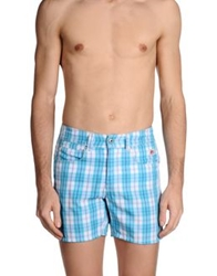 Roy Rogers Roy Roger's Swimming Trunks Turquoise