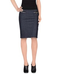 Vdp Collection Denim Denim Skirts Women