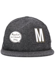 Moncler Patch Detail Cap Grey