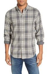 Jack Spade Men's 'Palmer' Trim Fit Plaid Sport Shirt