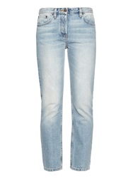 The Row Ashland Low Rise Straight Leg Jeans