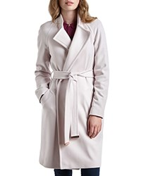 Ted Baker Appia Wrap Coat Pale Pink
