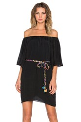 T Bags Losangeles 3 4 Sleeve Off Shoulder Dress Black
