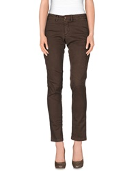 Maison Clochard Casual Pants Khaki