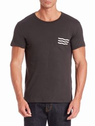 Sol Angeles Wave Pocket Tee Black