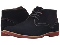 Hush Puppies Graton Ez Dress Navy Suede Men's Lace Up Casual Shoes Blue
