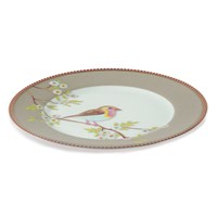 Pip Studio Early Bird Plate Khaki