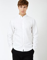 Only And Sons Sebastian Oxford Shirt White