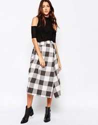 Cheap Monday Ball Skirt Ice Cream Check Multi