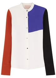 Roksanda Colour Block Silk Shirt