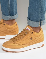 Fila T 1 Mid Trainers Yellow