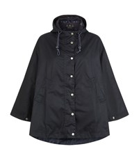 Barbour Brae Wax Cape Female Navy