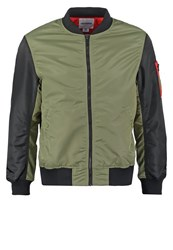 Converse Bomber Jacket Fatigue Green