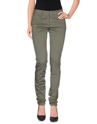 Transit Par Such Trousers Casual Trousers Women Military Green