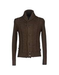 Blauer Cardigans Dark Brown