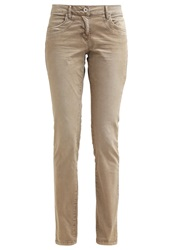 Tom Tailor Carrie Trousers Greige Beige
