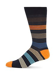 Saks Fifth Avenue Multicolored Striped Socks