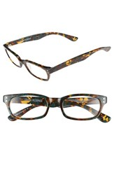 Women's Corinne Mccormack 'Cindy' 48Mm Reading Glasses Olive Tort