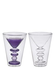 Bitossi Home Set Of 2 Martini Glasses