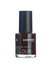 Korres Nail Lacquer Dark Brown