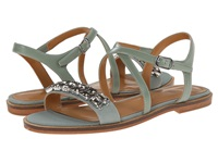 Enzo Angiolini Jewelana Green Green Synthetic Women's Dress Sandals Blue