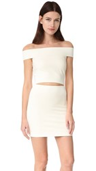 Bec And Bridge Georgia Mini Dress Ivory