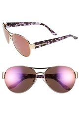 Bcbgmaxazria 'Feisty' 58Mm Sunglasses Gold
