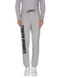 Msgm Trousers Casual Trousers Men Light Grey