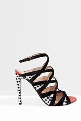 Giambattista Valli Women S Dotty Strappy Heels Boutique1