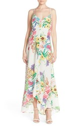 Women's Charlie Jade Floral Silk Maxi Dress