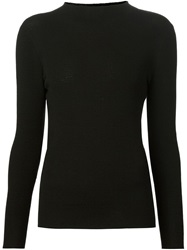 Maison Ullens High Neck Sweater Black
