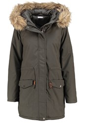 Jdymandy Parka Dusty Olive Dark Green