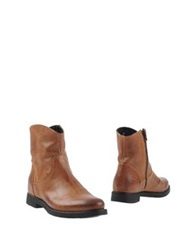 Manufacture D'essai Ankle Boots Brown