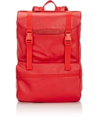 Rip Offs Men's Flap Front Backpack Red